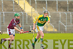 Kerry's John Fitzgerald and Westmeath's Paddy Dowdall.