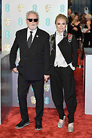 LONDON, UK - FEBRUARY 10: Roger Taylor and Sarina Potgieter at the 72nd British Academy Film Awards held at Albert Hall on February 10, 2019 in London, United Kingdom. Photo: imageSPACE/MediaPunch<br /> CAP/MPI/IS<br /> ©IS/MPI/Capital Pictures