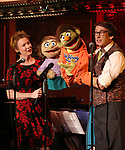 Jennifer Barnhart and Rick Lyon during the 'Avenue Q' 15th Anniversary Reunion Concert at Feinstein's/54 Below on July 30, 2018 in New York City.