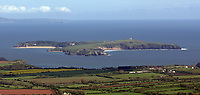 Pictured: Caldey Island. STOCK PICTURE<br /> Re: Dyfed-Powys Police has received reports of historical sexual abuse perpetrated by a monk on Caldey Island in the 1970s and 1980s.<br /> The force investigated in 2014 and 2016 but could not prosecute as the monk, Father Thaddeus Kotik, died in 1992.<br /> The Guardian newspaper has reported that Caldey Abbey has paid compensation to six women who were abused as children.