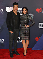Mario Lopez &amp; Courtney Laine Mazza at the 2018 iHeartRadio Music Awards at The Forum, Los Angeles, USA 11 March 2018<br /> Picture: Paul Smith/Featureflash/SilverHub 0208 004 5359 sales@silverhubmedia.com