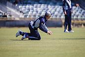 4th October 2017, WACA Ground, Perth, Australia; 2017 JLT One Day Cup, Tasmania versus Victoria; Victorian Bushrangers Marcus Harris fields the ball