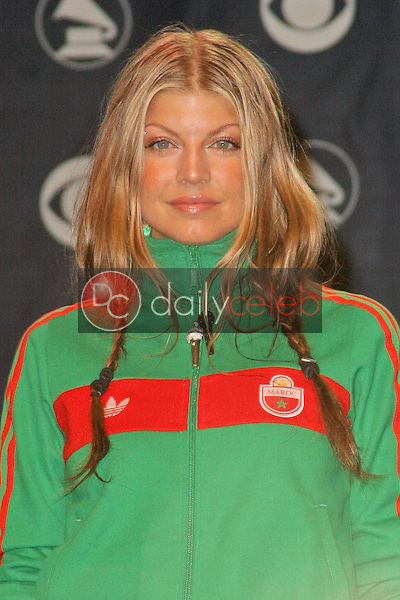 Fergie of the Black Eyed Peas