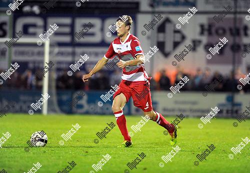2014-09-06 / Voetbal / seizoen 2014-2015 / Dessel Sport - R. Antwerp FC / Gertjan Martens<br /><br />Foto: Mpics.be