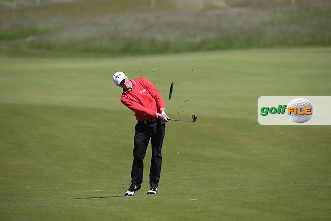 Alex Noren (SWE) plays second shot to the 5th during Round Two of the 2015 Nordea Masters at the PGA Sweden National, Bara, Malmo, Sweden. 05/06/2015. Picture David Lloyd | www.golffile.ie