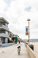 The Strand, Hermosa Beach, California.