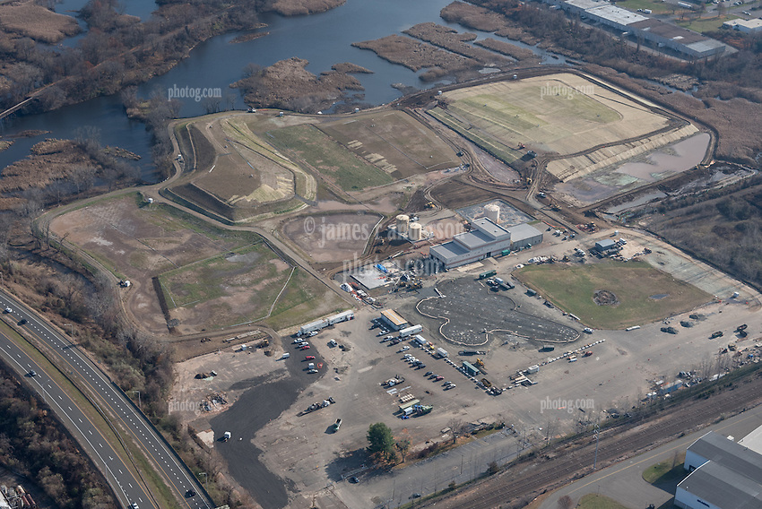 Pfizer North Haven, Site Remediation Aerial Documentation