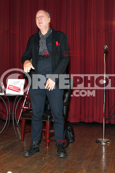 PHILADELPHIA, PA - OCTOBER 10 :  Pete Townshend of the rock band The Who pictured at an author event for Who I Am at the University Of Penn's Museum of Archaeology and Anthropology in Philadelphia, Pa on October 10, 2012  © Star Shooter / MediaPunch Inc /NortePhoto Agency