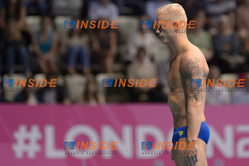 TOLVERS Jesper SWE<br /> Team Event Final <br /> London, Queen Elizabeth II Olympic Park Pool <br /> LEN 2016 European Aquatics Elite Championships <br /> Diving  <br /> Day 01 20160509<br /> Photo Andrea Staccioli/Deepbluemedia/Insidefoto