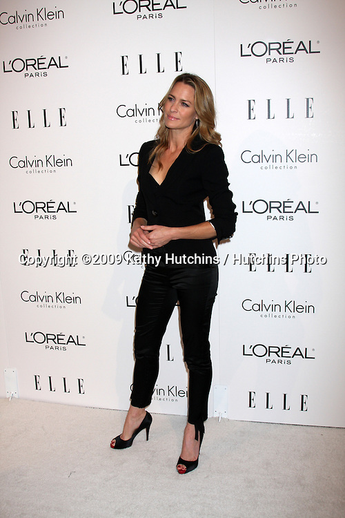 Robin Wright Penn.arriving at the 16th Annual Women in Hollywood Tribute Sponsored by ELLE.Beverly Hilton Hotel.Los Angeles,  CA.October 19, 2009.©2009 Kathy Hutchins / Hutchins Photo.