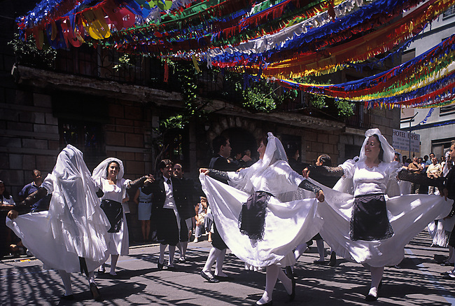 Folkloric Dancing Escalder-Engordany Festival, Andorra