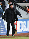 Wrexham manager Dean Saunders during the Blue Square Bet Premier match between Cambridge United and Wrexham at the Abbey Stadium, Cambridge on 22nd January, 2011 .© Kevin Coleman 2011