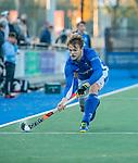 UTRECHT - Lars Balk (Kampong)   tijdens de hoofdklasse hockeywedstrijd mannen, Kampong-Amsterdam (4-3). COPYRIGHT KOEN SUYK