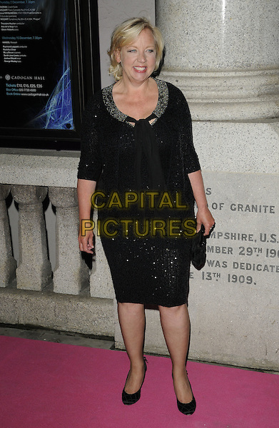DEBORAH MEADEN.The Inspiration Awards For Women at the Cadogan Hall, London, England, UK..October 6th 2010 .full length black jacket skirt shoes heels suit  .CAP/CAN.©Can Nguyen/Capital Pictures.