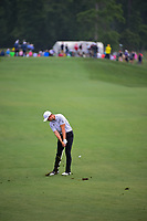 Luke List (USA) watches hits his approach shot on 3 during round 4 of the Shell Houston Open, Golf Club of Houston, Houston, Texas, USA. 4/2/2017.<br /> Picture: Golffile | Ken Murray<br /> <br /> <br /> All photo usage must carry mandatory copyright credit (&copy; Golffile | Ken Murray)