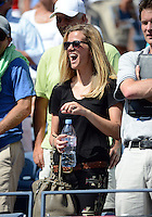 FLUSHING NY- AUGUST 28: Brooklyn Decker is sighted during the Roddick  Vs Williams match on Arthur Ashe stadium at the USTA Billie Jean King National Tennis Center on August 28, 2012 in in Flushing Queens. mpi04 / mediapunchinc /NortePhoto.com<br />