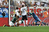 Torwart Manuel Neuer (Deutschland Germany) rettet - 17.06.2018: Deutschland vs. Mexico, Luschniki Stadium Moskau