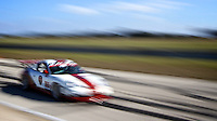Peter Collins in His #86 Porsche GT3 Cup at Sebring 48 Hours