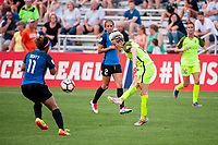 Kansas City, MO - Saturday June 17, 2017: Megan Rapinoe during a regular season National Women's Soccer League (NWSL) match between FC Kansas City and the Seattle Reign FC at Children's Mercy Victory Field.