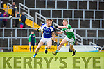 Danny Sheehan Legion tackles Tommy Walsh KOR  during their SFC clash in Fitzgerald Stadium on Sunday