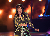 CARSON, CALIFORNIA - JUNE 01: Halsey performs onstage at 2019 iHeartRadio Wango Tango at Dignity Health Sports Park on June 01, 2019 in Carson, California.   <br /> CAP/MPI/IS<br /> ©IS/MPI/Capital Pictures