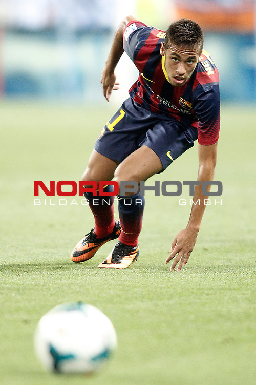 FC Barcelona's Neymar Santos Jr during La Liga match.August 25,2013. Foto © nph / Acero)