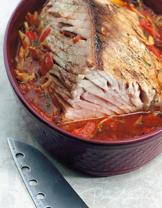 Roti de thon à la taupin