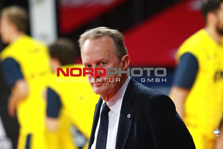 , Aito Garcia Reneses Trainer  Alba Berlin <br /> <br /> <br /> Basketball Finalturnier 2020, nph0001: Halbfinale Spiel 1  <br /> 22.06.2020<br /> <br /> FOTO: Mladen Lackovic / LakoPress /Pool / nordphoto<br /> <br /> Nur für journalistische Zwecke! Only for editorial use! <br /> No commercial usage!