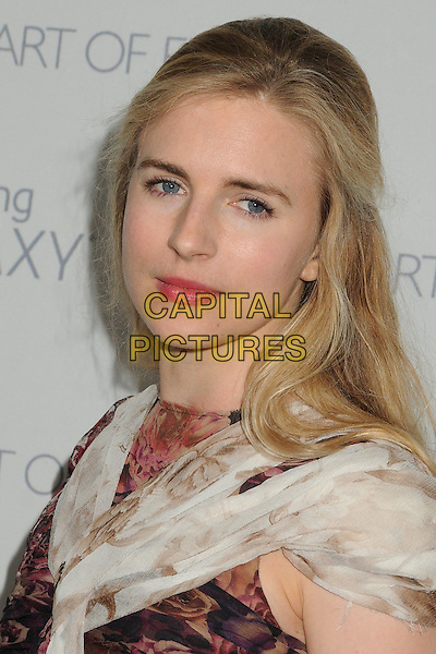 10 January 2015 - Santa Monica, California - Brit Marling. The Art of Elysium&rsquo;s 8th Annual Heaven Gala held at Hangar 8.   <br /> CAP/ADM/BP<br /> &copy;Byron Purvis/AdMedia/Capital Pictures