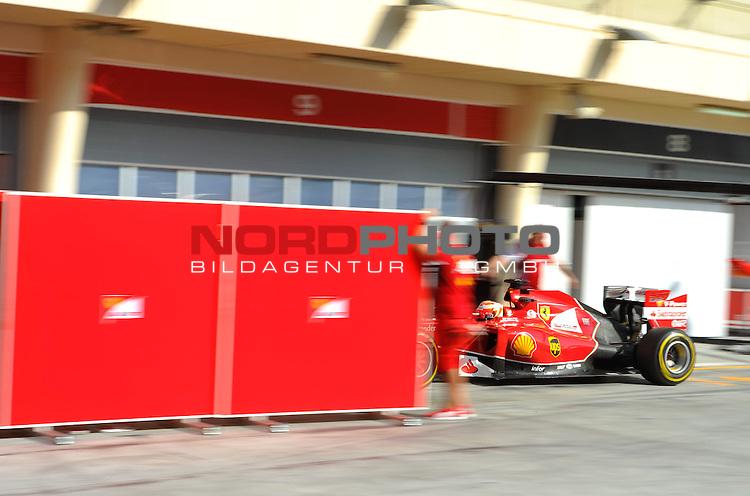 Kimi Raikkonen (FIN), Scuderia Ferrari<br />  Foto &copy; nph / Mathis
