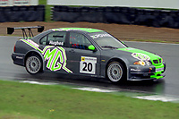 #20 Warren Hughes (GBR). MG Sport & Racing. MG ZS.