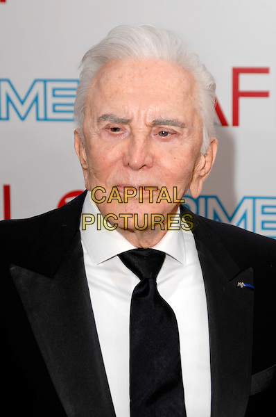 KIRK DOUGLAS .The 37th AFI Life Achievement Award held at Sony Picture Studios in Culver City, California, USA..July 11th, 2009.headshot portrait black tie jacket .CAP/ROT.©Lee Roth/Roth Stock/Capital Pictures