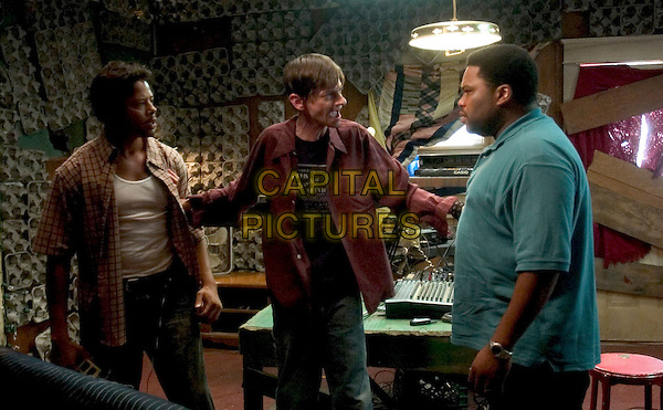 TERRENCE HOWARD, DJ QUALLS & ANTHONY ANDERSON.in Hustle & Flow.*Editorial Use Only*.www.capitalpictures.com.sales@capitalpictures.com.Supplied by Capital Pictures.