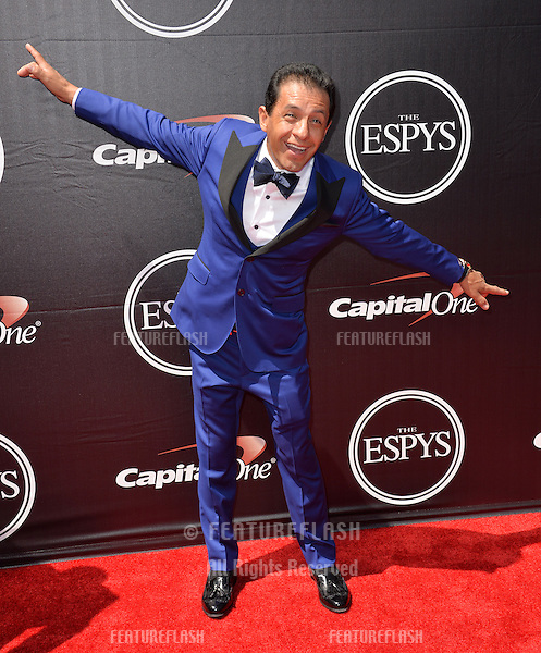 Jockey Victor Espinoza at the 2015 ESPY Awards at the Microsoft Theatre LA Live.<br /> July 15, 2015  Los Angeles, CA<br /> Picture: Paul Smith / Featureflash
