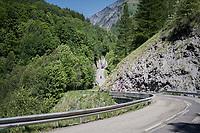 crazy roads<br /> <br /> stage 7: Aoste &gt; Alpe d'Huez (168km)<br /> 69th Crit&eacute;rium du Dauphin&eacute; 2017