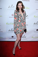 "BEVERLY HILLS, CA, USA - MARCH 13: Aly Michalka at the Alessandra Ambrosio Launch of ""ale by Alessandra"" held at Planet Blue on March 13, 2014 in Beverly Hills, California, United States. (Photo by David Acosta/Celebrity Monitor)"