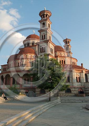 Korca/Korce-Albania - August 02, 2004---Orthodox church in the city of Korca; region/village of project implementation by GTZ-Wiram-Albania (German Technical Cooperation, Deutsche Gesellschaft fuer Technische Zusammenarbeit (GTZ) GmbH); religion-culture---Photo: Horst Wagner/eup-images