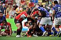 (L to R) Yuusuke Nagae (JPN), Takashi Kikutani (JPN),.JUNE 17, 2012 - Rugby : IRB Pacific Nations Cup 2012 match between Japan 26-27 Samoa at Chichibunomiya Rugby Stadium, Tokyo, Japan. (Photo by Jun Tsukida/AFLO SPORT) [0003]