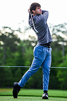 Ollie Schniederjans (USA) watches his tee shot on 3 during round 1 of the Shell Houston Open, Golf Club of Houston, Houston, Texas, USA. 3/30/2017.<br /> Picture: Golffile | Ken Murray<br /> <br /> <br /> All photo usage must carry mandatory copyright credit (&copy; Golffile | Ken Murray)