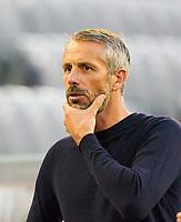 13th June 2020, Allianz Erena, Munich, Germany; Bundesliga football, Bayern Munich versus Borussia Moenchengladbach;  Marco ROSE, Trainer MG