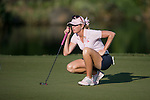 Paula Creamer plays during the World Celebrity Pro-Am 2016 Mission Hills China Golf Tournament on 22 October 2016, in Haikou, China. Photo by Marcio Machado / Power Sport Images