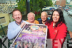 BACK TO BASICS: Brian Carr, Danny Leen, John O'Sullivan and Ciara O'Connor pictured at the launch of the Back to Basics Rose of Tralee Festival Programme on Wednesday.
