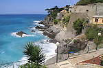 Along the Mediterranean Sea in Bogliasco, Genova, Italy.