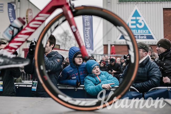 Childlike wonder. <br /> <br /> 61th E3 Harelbeke 2018 (1.UWT)<br /> 1day race: Harelbeke › Harelbeke - BEL (206km)