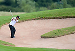 Thailands Thongchai Jaidee in action during today's round<br /> <br /> Golf - Day 2 - ISPS Handa Wales Open 2013 - Twenty Ten Course- Friday 30th August 2013 - Celtic Manor Resort  - Newport<br /> <br /> © www.sportingwales.com- PLEASE CREDIT IAN COOK