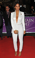 Rochelle Humes at the Pride of Britain Awards 2017, Grosvenor House Hotel, Park Lane, London, England, UK, on Monday 30 October 2017.<br /> CAP/CAN<br /> &copy;CAN/Capital Pictures /MediaPunch ***NORTH AND SOUTH AMERICAS ONLY***