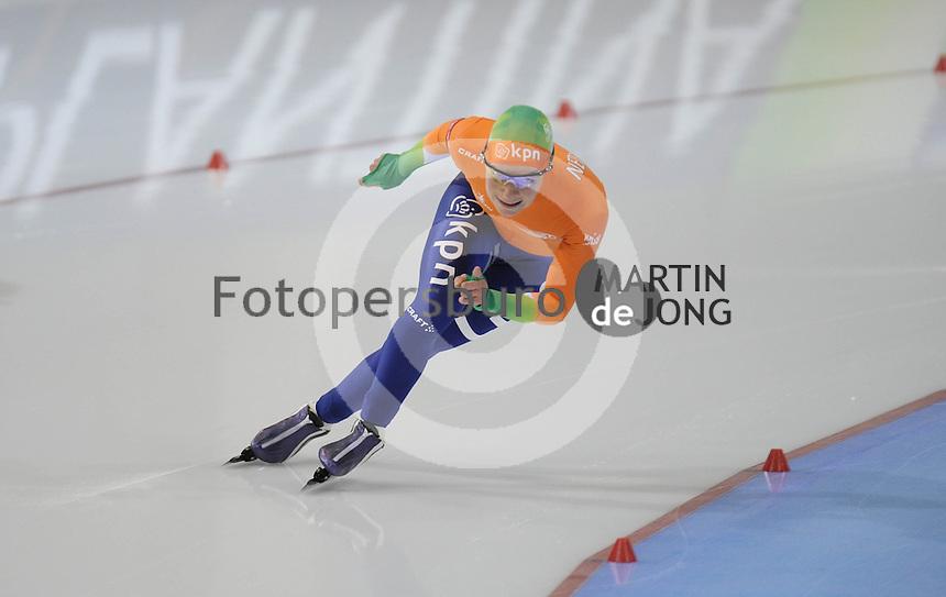 SCHAATSEN: SALT LAKE CITY: Utah Olympic Oval, 16-11-2013, Essent ISU World Cup, 500m, Thijsje Oenema (NED), ©foto Martin de Jong