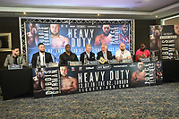 General view during a Press Conference at Intercontinental Hotel O2 on 5th June 2019