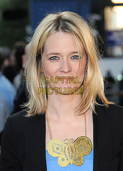 "EDITH BOWMAN.UK Film Premiere of ""Star Trek"" held at the Empire Cinema, Leicester Square, London, England. .April 20th 2009 .headshot portrait butterfly gold necklace.CAP/BEL.©Tom Belcher/Capital Pictures."