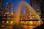 Water Arch, Centennial Fountain, Chicago, Illinois